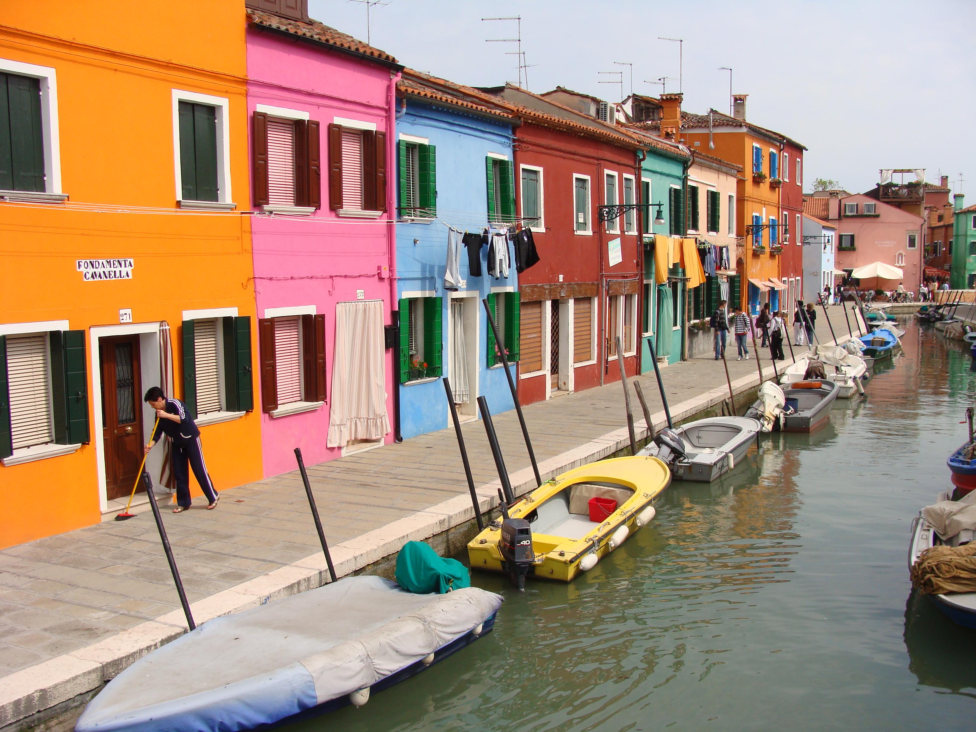 Fotogeniek kleurenspel op Burano